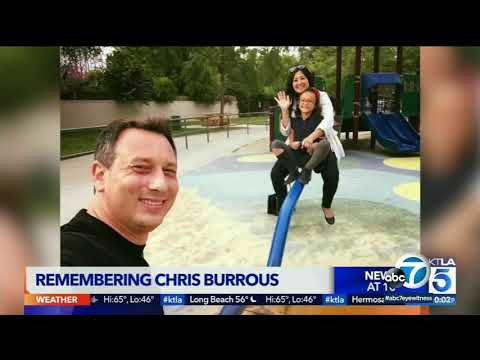 Chris Burrous cause of death released I ABC7 - YouTube