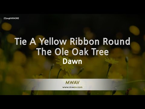 Dawn-Tie A Yellow Ribbon Round The Ole Oak Tree (Melody) [ZZang KARAOKE]