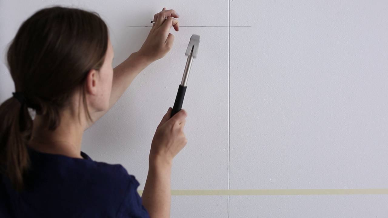 IKEA Ideas: How to hang pictures in a straight line - YouTube