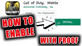 WITH LIVE PROOF,  DOWNLOAD CALL OF DUTY MOBILE IN ANY DEVICE .