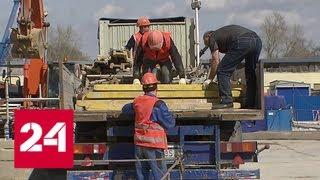 Строительство Кожуховской ветки метро: первые станции почти готовы - Россия 24