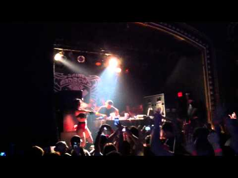 Swedish House Mafia - Knas - Live Steve Angello - St Andrews Hall Detroit Michigan 04/06/11
