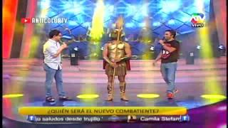 COMBATE Nikko Ponce Nuevo Combatiente 16/01/14