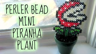Perler Bead Mario Mini Piranha Plant Tutorial