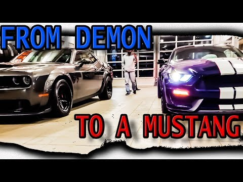 Why I TRADED a dodge DEMON for a MUSTANG