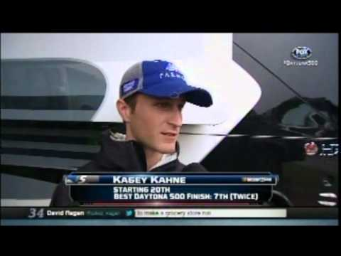 Kasey Kahne Interview During Rain Delay For Daytona 500 2/26/12