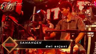 Aksi kendang Jaipong Cak ROBET - Sawangen Dwi anjani New GITA BAYU