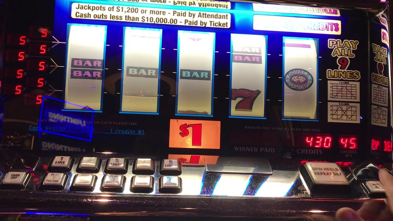 Double Diamond Slot Machine Payout