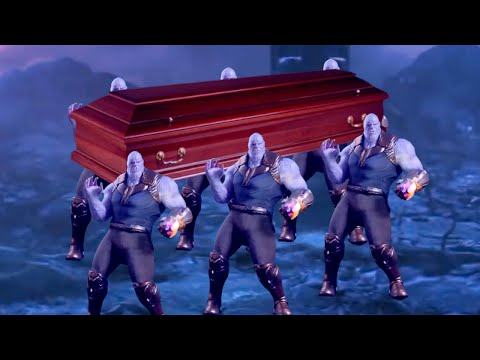 Thanos Does the Coffin Dance Meme in Infinity War