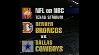 1995-09-10 Denver Broncos vs Dallas Cowboys(Elway vs Aikman)