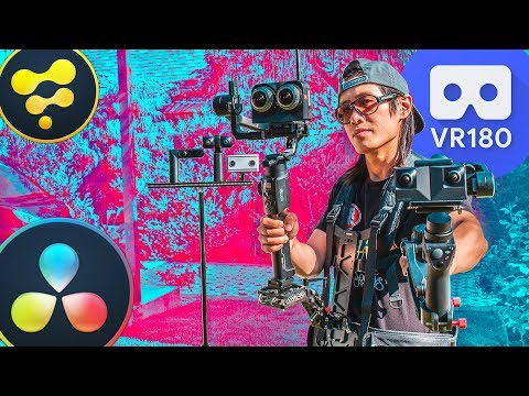 Create the BEST VR180 for VR headsets using DaVinci Resolve Fusion 16 | 2020 Guide