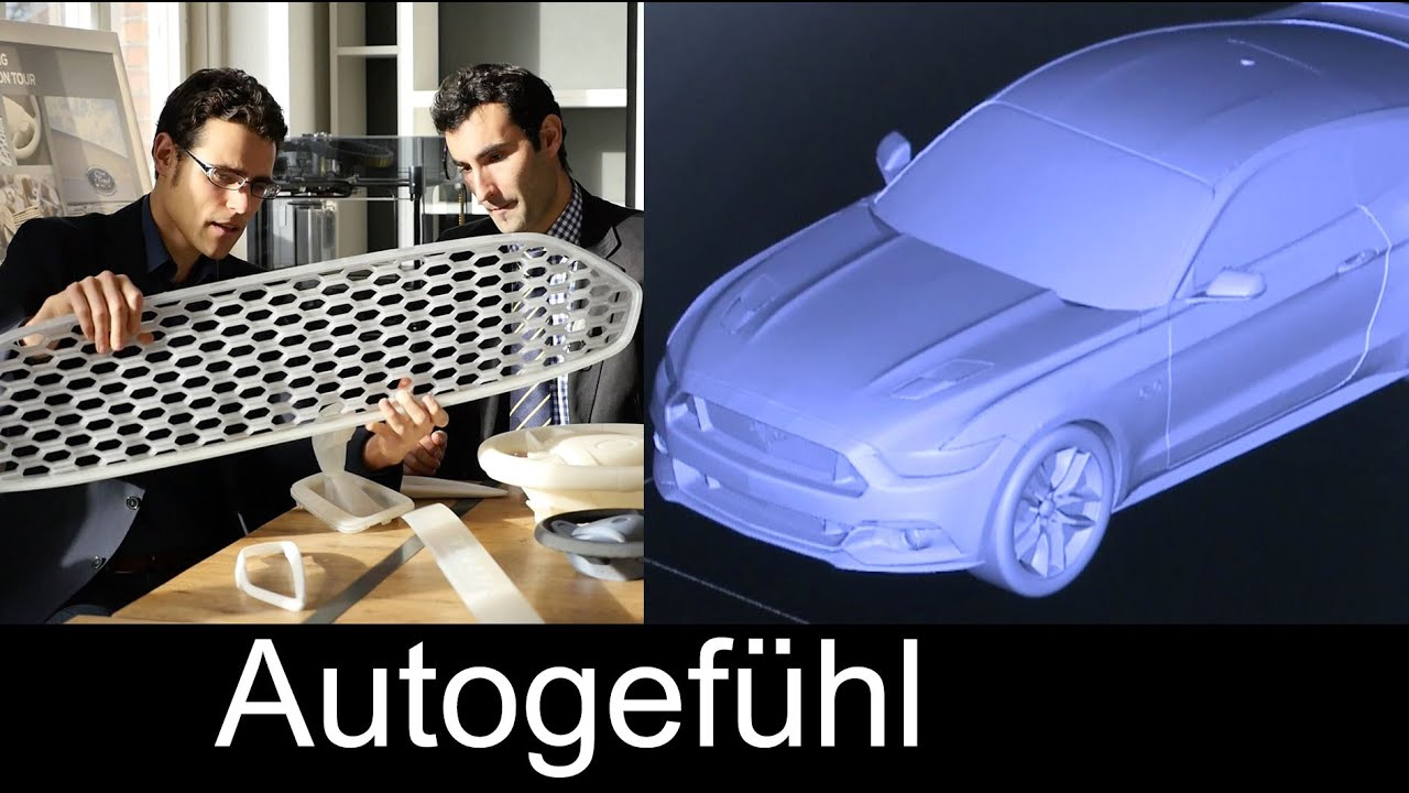 3D Printing Technology Feature With Ford Automotive 3D
