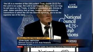 US State of the Union is *the US is a member of the UN/Lucifer's Trust New World Order