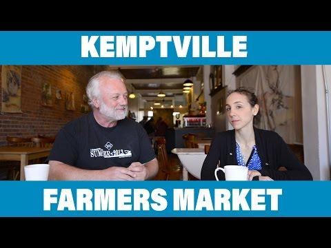 Kemptville Farmers Market - John Barclay Interview