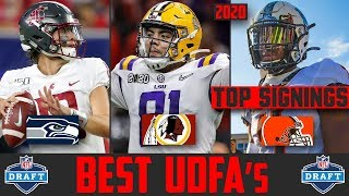 2020 NFL Draft BEST UDFA Signings (2020 NFL Draft Undrafted Free Agent Signings)