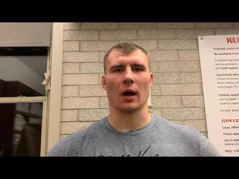 Adam Coon 130 Kg Bill Farrell Champion