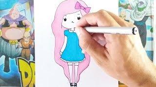 Como Desenhar BONEQUINHA TUMBLR | SUPER FÁCIL