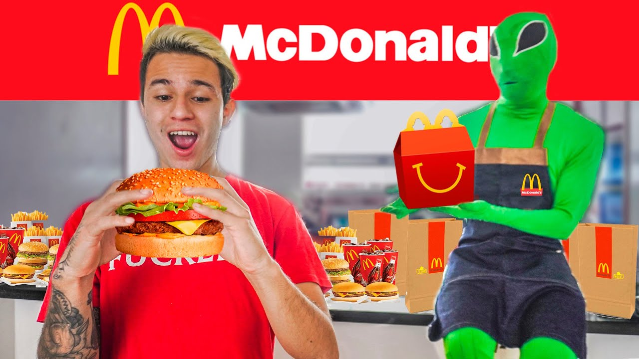 Convertí mi CASA en un McDonald's Ft @PARCERICO