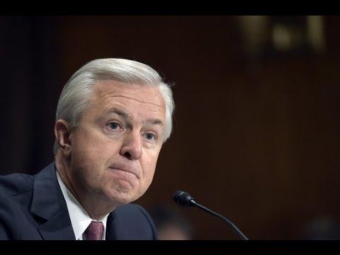 Wells Fargo CEO gets punished...kind of