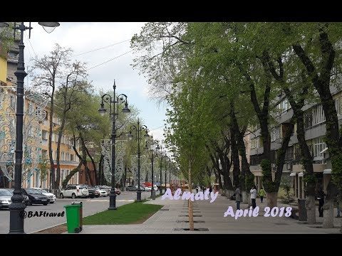 Travelling in Cities (Прогулки в городах) / Almaty city 2018 FullHD