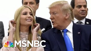 ivanka-trump-faces-criticism-for-g20-involvement-morning-joe-msnbc