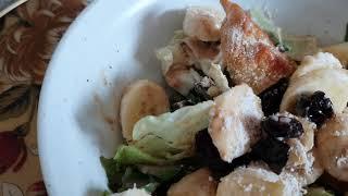 당뇨와 다이어트에  도움되는 보리새싹 샐러드와 보리차