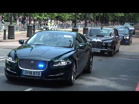 Metropolitan Police escort Royal Family in NEW unmarked cars
