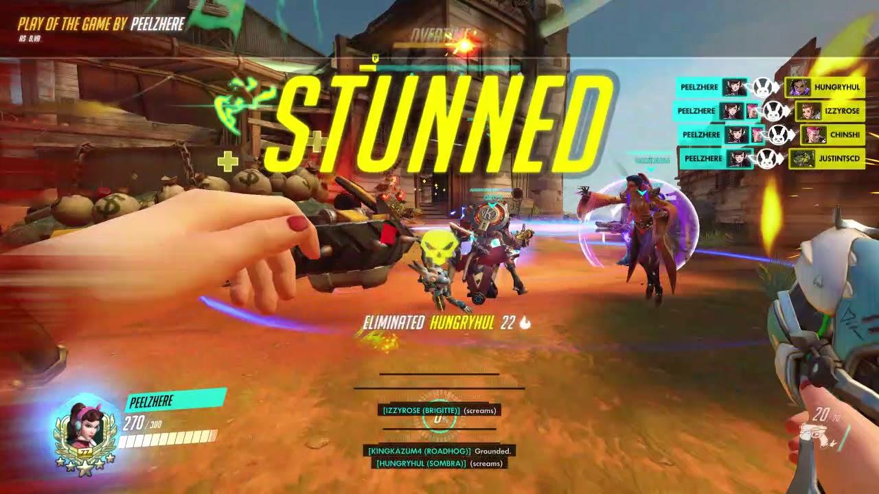 Vidéo Overwatch 1 : Une full team Mei-veilleuse - YouTube