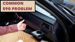 BMW Cup Holder Repair // DIY