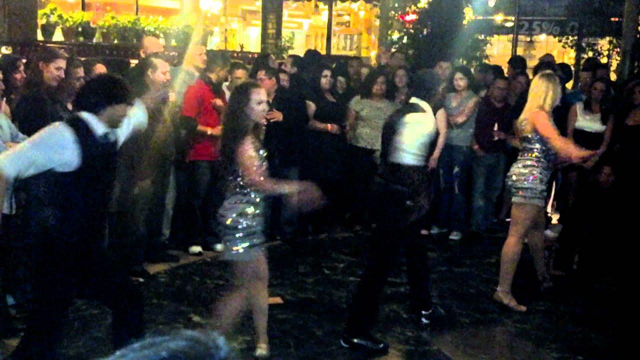 Loring pasta bar salsa dancing