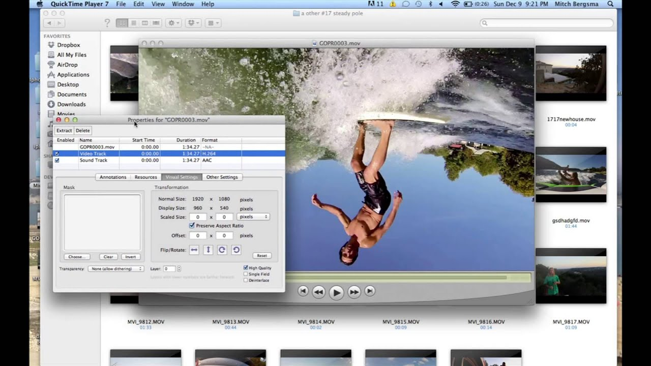 How to rotate the video on quicktime player 7 youtube how to rotate the video on quicktime player 7 ccuart Images
