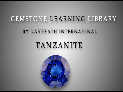 Natural Tanzanite Gemstone By Dashrath International