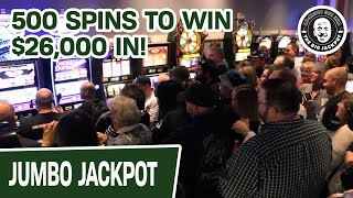 $26,000 SLOT GROUP PULL! ★ 500 SPINS TO WIN @ Foxwoods Casino