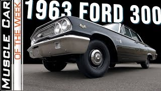 1963 Ford 300 427 4-Speed 4 Door Muscle Car Of The Week Video Episode 309