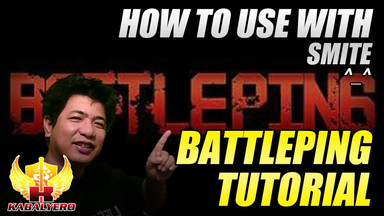 Battleping Tutorial ★ How To Use With SMITE ★ Reduce Game Lag