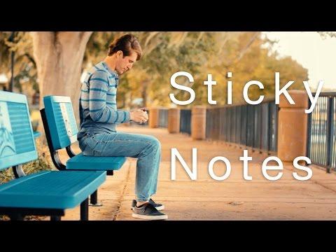 Sticky Notes   A Short Love Story