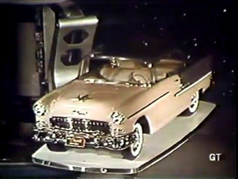 1955 GM Motorama - Vehicle Showcase (1986 VHS rip)