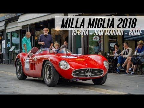MILLE MIGLIA 2018 | Cervia - Rome par SAN MARINO