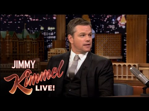 Thumbnail: Matt Damon Insults Jimmy Kimmel on The Tonight Show