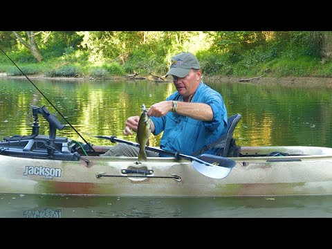 Kayak Fishing On One Of The Most Diverse Streams In The World, The Green River