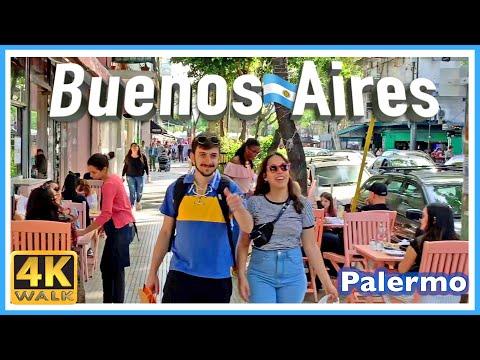 【4K】WALK Palermo SOHO Buenos Aires Argentina 4k Virtual Walk