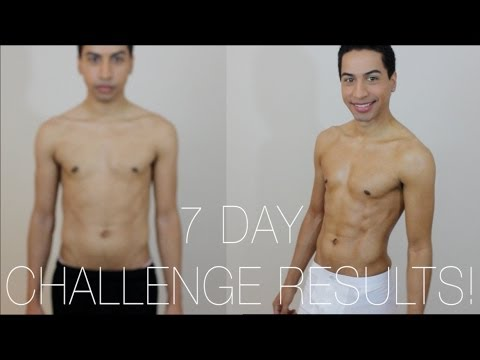 7 day challenge results before amp after qampas youtube