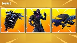 QUAND'S FORTNITE'S BEST SKIN COMING OUT? : LE CORBEAU / CORBEAU ( PEAU LÉGENDAIRE )