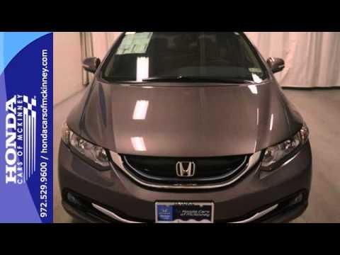 2013 honda civic hybrid dallas tx mckinney tx de003872 for Honda mckinney tx