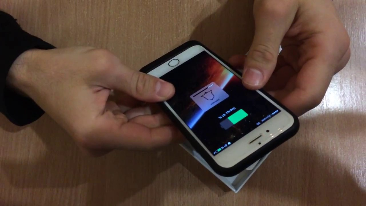 Apple smart battery case чехол-аккумулятор для iphone 6s, charcoal gray с официальной гарантией в интернет-магазине ozon. Ru характеристики,