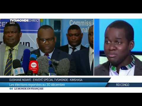 Report de l'élection présidentielle en RDC, explications d'Ousmane Ndiaye à Kinshasa