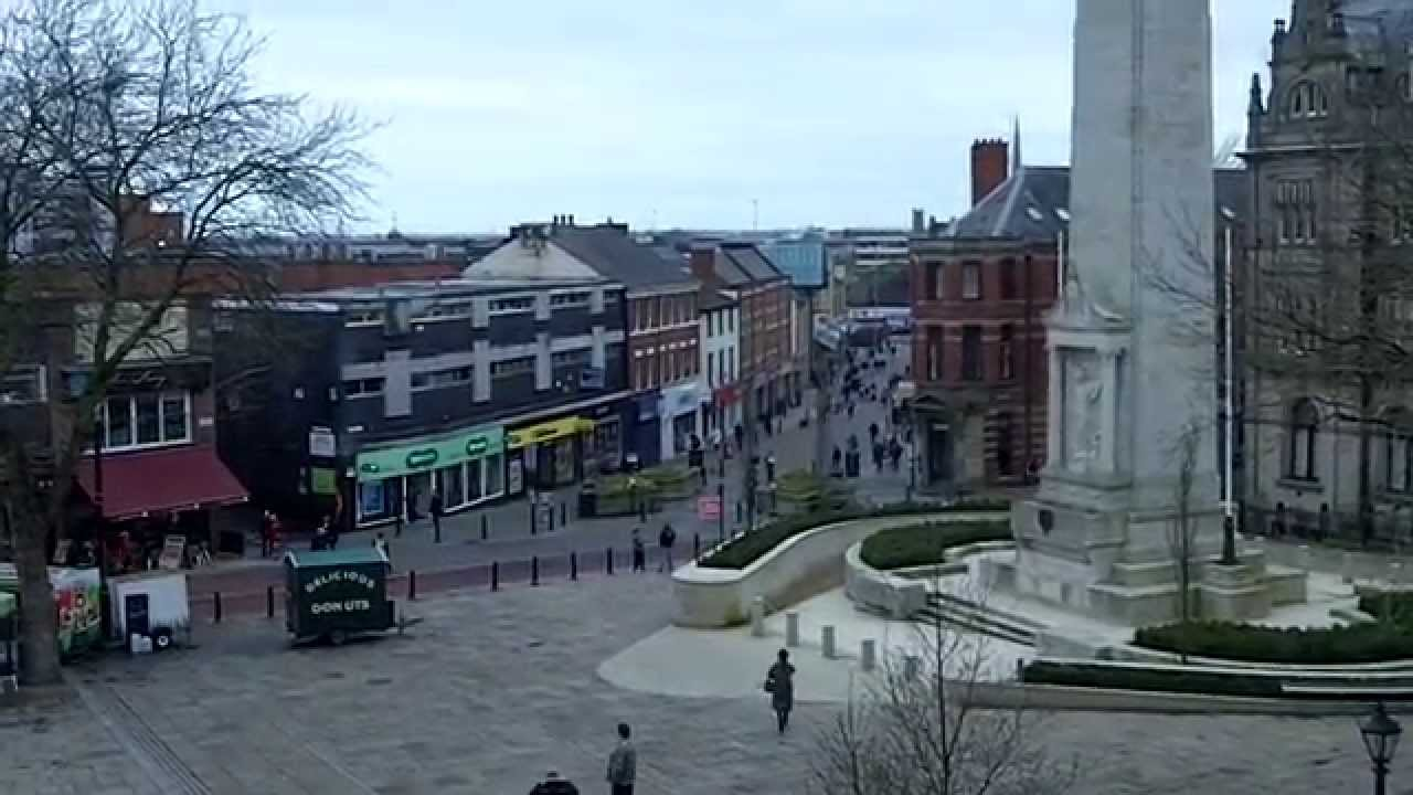 City Centre Preston Lancashire Youtube