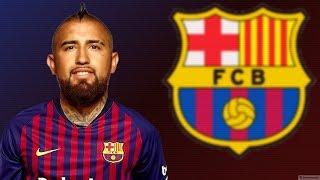 Arturo vidal 2018 ● welcome to barcelona | goals, skills, tackles, passes hd