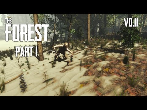 The Forest - V0.11 - Survival Gameplay - Generic Meat! - Part 1