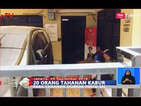 20 Tahanan Polres Kepulauan Seribu Kabur, Baru Tertangkap 9 Orang - BIS 24/09